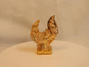 Đầu rồng bằng đồng mạ vàng 13cm - Q0161