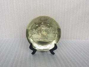 Đĩa đồng gò Khuê Văn Các - Q0296