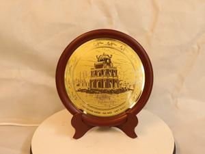 Đĩa đồng Hồ Hoàn Kiếm đường kính 23cm - Q0175