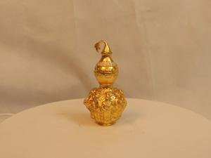 Hồ lô bát tiên bằng đồng dát vàng 14cm - Q0160