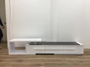 Kệ gỗ decor tivi hiện đại HA-02