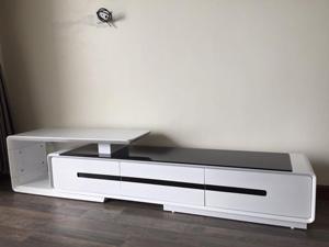 Kệ gỗ decor tivi hiện đại HA-05
