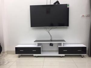 Kệ gỗ decor tivi hiện đại HA-07