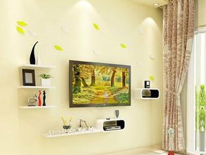 Bộ kệ gỗ decor trang trí tivi TV-06