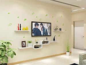 Bộ kệ gỗ decor trang trí tivi TV-07