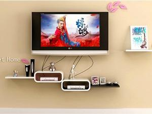Bộ kệ gỗ decor trang trí tivi TV-11