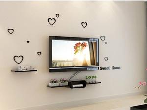 Bộ kệ gỗ decor trang trí tivi TV-14