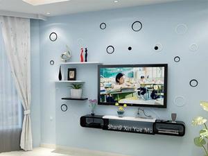 Bộ kệ gỗ decor trang trí tivi TV-15