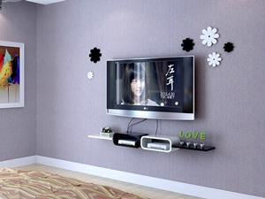 Bộ kệ gỗ decor trang trí tivi TV-16