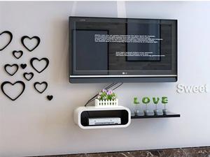 Bộ kệ gỗ decor trang trí tivi TV-17