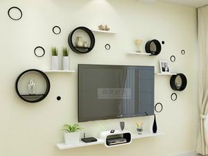 Bộ kệ gỗ decor trang trí tivi TV-19