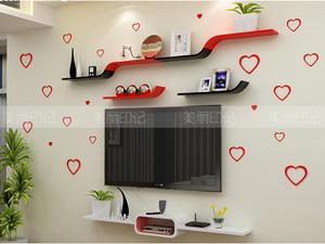 Bộ kệ gỗ decor trang trí tivi TV-21