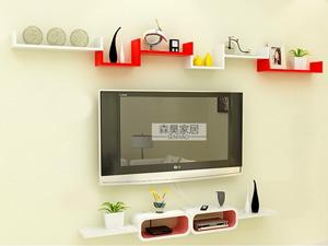 Bộ kệ gỗ decor trang trí tivi TV-24