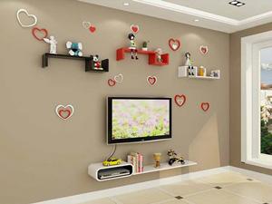 Bộ kệ gỗ decor trang trí tivi TV-25