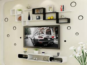 Bộ kệ gỗ decor trang trí tivi TV-29