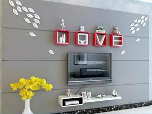 Bộ kệ gỗ decor trang trí tivi TV-30
