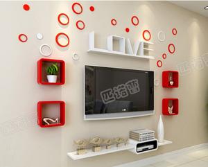 Bộ kệ gỗ decor trang trí tivi TV-31