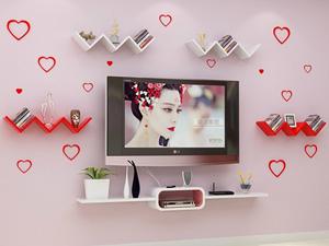 Bộ kệ gỗ decor trang trí tivi TV-33