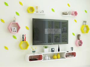 Bộ kệ gỗ decor trang trí tivi TV-34