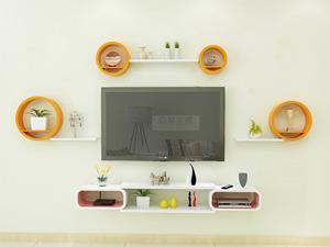 Bộ kệ gỗ decor trang trí tivi TV-36