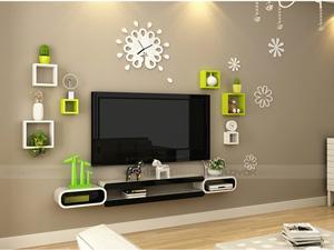 Bộ kệ gỗ decor trang trí tivi TV-37