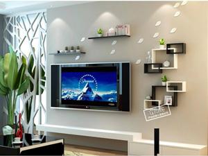 Bộ kệ gỗ decor trang trí tivi TV-38