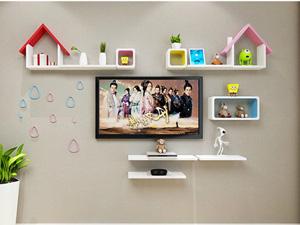 Bộ kệ gỗ decor trang trí tivi TV-40