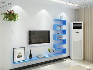 Bộ kệ gỗ decor trang trí tivi TV-43