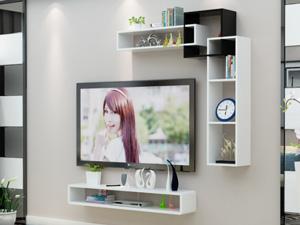 Bộ kệ gỗ decor trang trí tivi TV-45