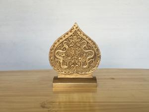 Lá Đề Hoàng Thành cao 14cm - Q0464