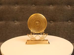Mặt Trống Đồng đế sen F10 - Q0229