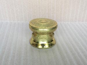 Quả Trống Đồng gò thủ công đường kính 12cm - Q0297
