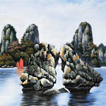 Tranh Danh Lam Thắng Cảnh