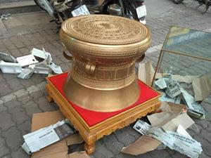Trống Đồng Đông Sơn đường kính 60cm - Q0539