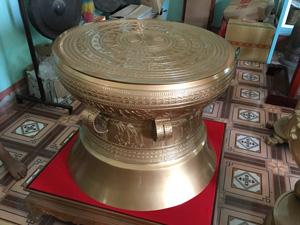 Quả Trống Đồng Đông Sơn đường kính 81cm - Q0445