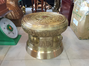 Trống đồng Thuận Thiên đường kính 40cm - Q0542