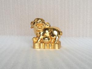 Tượng con Heo mạ vàng 15cm - Q0382
