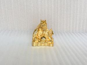 Tượng con Rồng mạ vàng 24k cỡ 15cm - Q0389