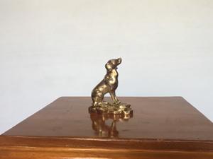 Tượng đồng con Chó cỡ 10cm- Q0469