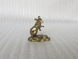 Tượng đồng con Chuột cao 8cm - Q0279
