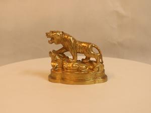 Tượng đồng con Hổ 10cm - Q0124