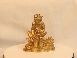 Tượng đồng con Khỉ cao 18cm - Q0150