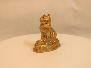 Tượng đồng con Mèo cao 10cm - Q0128