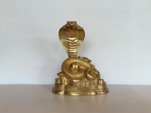 Tượng đồng con Rắn cao 20cm - Q0689