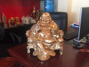 Tượng đồng Di Lặc Thuận Thiên 36cm - Q0627