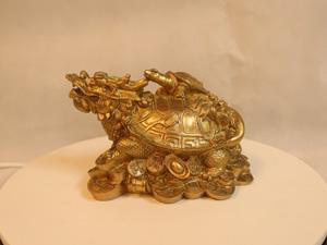 Tượng đồng Long Quy 20cm - Q0136