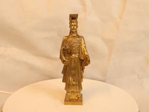 Tượng đồng Lý Thái Tổ cao 22cm - Q0186