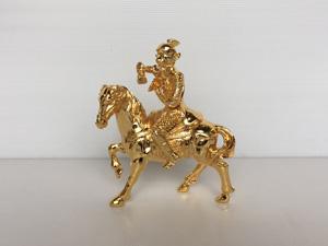 Tượng đồng Mã Thượng Phong Hầu cao 20cm - Q0348