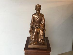Tượng đồng danh nhân Nguyễn Bỉnh Khiêm 50cm - Q0510