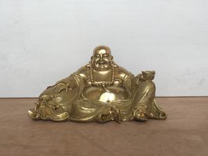 Tượng đồng Phật Di Lặc ngồi 30cm - Q0402